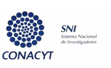 Logo del CONACYT y el SNI