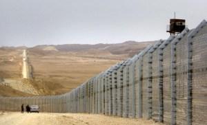 Frontera de Israel con Egipto