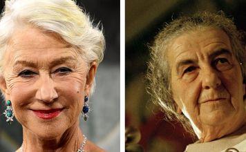 Helen Mirren y Golda Meir