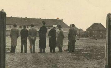 Gran Mufti de Jerusalén en un campo de concentración