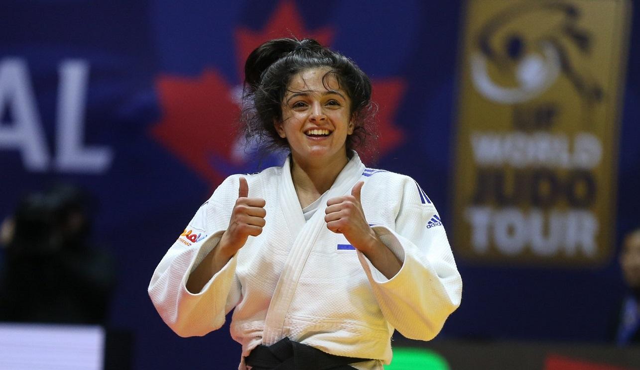 La judoca israelí Gefen Primo