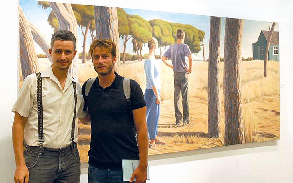 Akiva Shtisel, protagoniza la serie homónima, es un artista genial, pero Alex Tubis es el verdadero artista detrás de las geniales pinturas