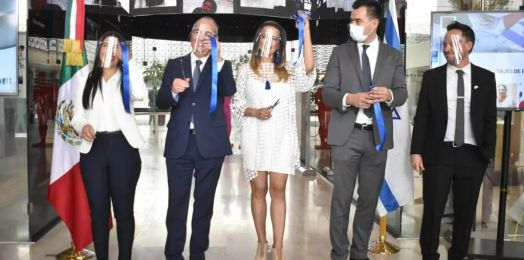 Inauguran en la Cámara de Diputados la Semana Cultural México-Israel