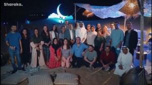 Árabes de los Emiratos Árabes Unidos y judíos israelíes celebraron juntos el Ramadán y Lag Baomer en una ceremonia especial en Dubai