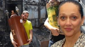 Cerca de Lod, donde los árabes quemaron una sinagoga, Ilana Tischler, directora de una aldea juvenil, prepara el ingreso de 400 niños a los refugios