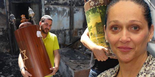 """Árabes apedrean a judíos, queman sinagoga y escuela en Lod. Ilana Tischler teme el """"fin de la coexistencia"""""""