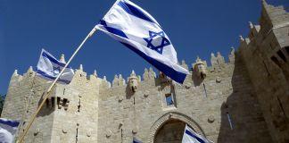 Banderas en Yom Yerushalaim