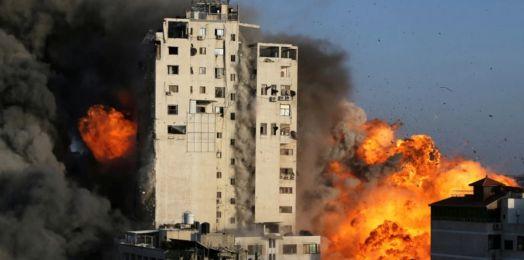 FDI destruye cuartel general de seguridad interna de Hamas en Gaza