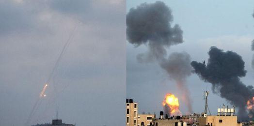 200 cohetes disparados contra Israel; FDI ha atacado 130 sitios de Hamás