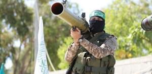 Militante de Hamás en Gaza