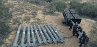 Cohetes A120 de Hamás