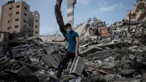 Palestino en la Franja de Gaza
