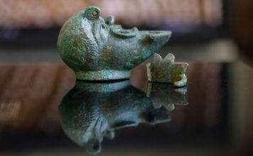 Lámpara de 2,000 años hallada en Israel