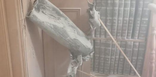 Cohete de Gaza impacta contra sinagoga en Netivot, Israel