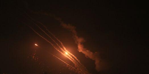 150 cohetes disparados desde Gaza contra Israel hasta ahora
