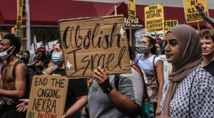 Manifestación anti-Israel
