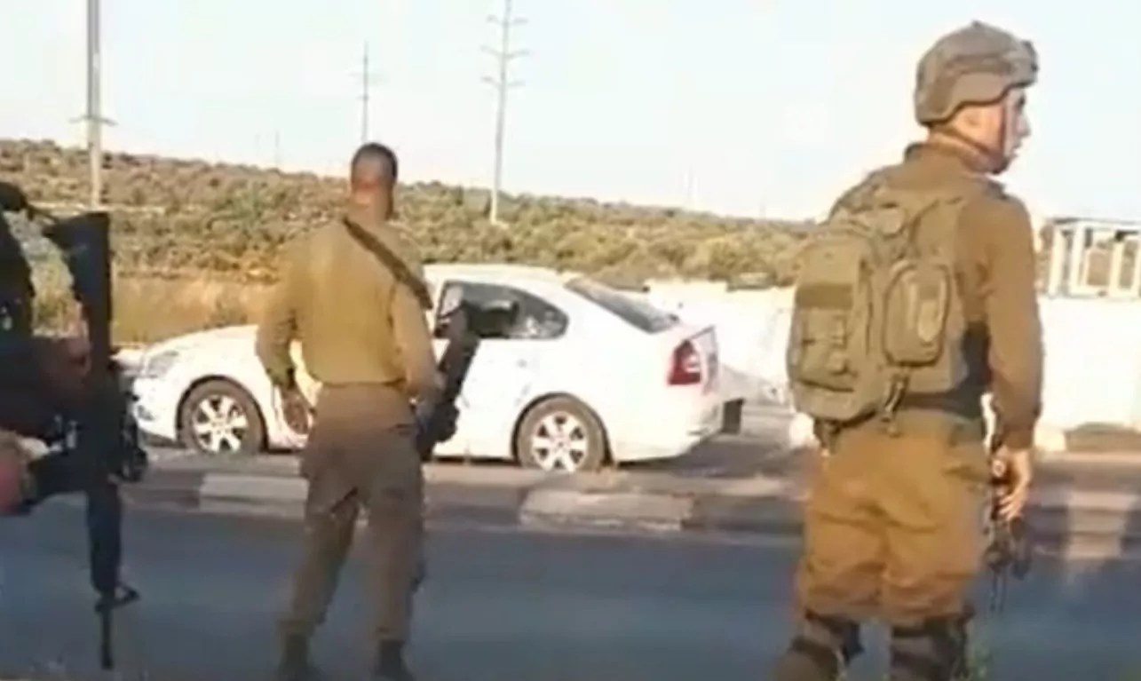 Soldados de Israel en Judea y Samaria