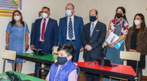 La Embajada de Israel en México junto a sus socios PYMO y Pale Blue Dote, donaron un centro tecnológico y educativo a la comunidad de Ameyalco en Lerma