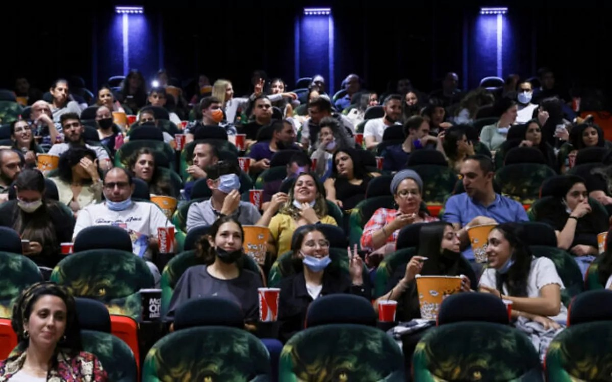 Israel abre cines