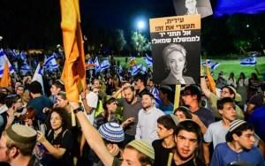 Manifestaciones del sionismo religioso contra nuevo gobierno en Israel
