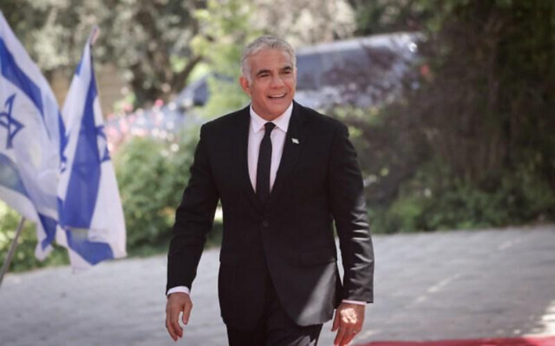 Ministro de Exteriores de Israel, Yair Lapid