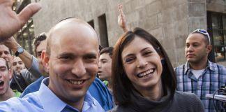 Gilat Bennett y Naftali Bennett