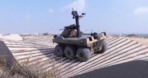 La división de Gaza de las FDI pronto desplegará un nuevo vehículo terrestre robótico semiautónomo llamado Jaguar a lo largo de la frontera con la Franja de Gaza