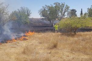 Globos lanzados desde Gaza generan incendios en el sur de Israel