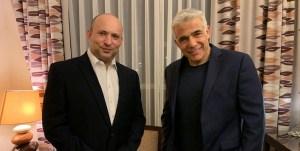 Naftali Bennett y Yair Lapid