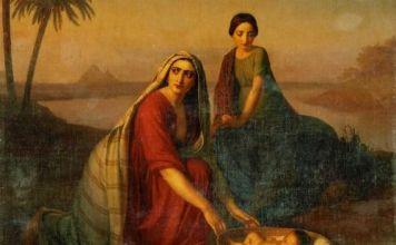 El amor al prójimo de Batia la obliga a rescatar a Moisés de bebé