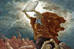 El 17 de Tamuz ocurre cuarenta días después de Shabuot. Moshé ascendió al Monte Sinaí el 6 de Siván, y permaneció allí durante cuarenta días