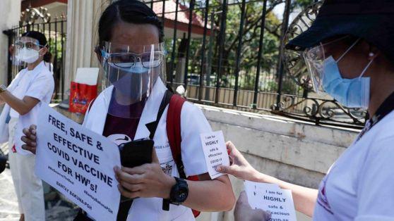 Se espera que un equipo de expertos del Ministerio de Salud de Israel viaje a Filipinas para ayudar en los esfuerzos de vacunación de ese país