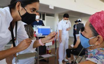 Este miércoles dio inició la vacunación de personas de 40 a 49 años de edad, en las Alcaldías Miguel Hidalgo y Álvaro Obregón.