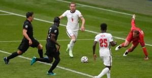 Partido entre Alemania e Inglaterra