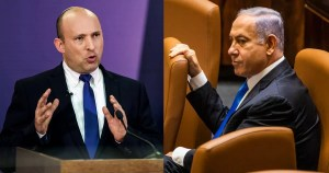 Bennett y Netanyahu