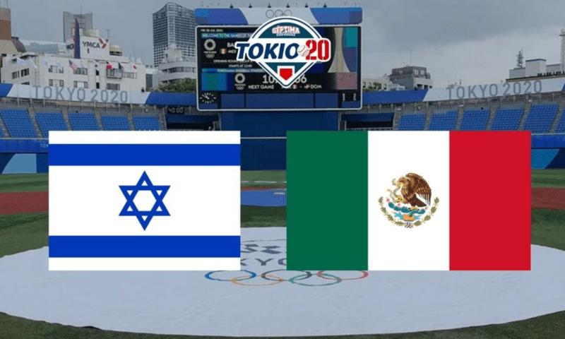 mexico e israel se enfrentan en beisbol en tokio 2020