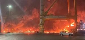 Explosion en Dubai