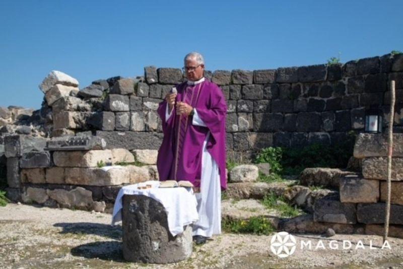 El Proyecto Magdala y el Santuario de Santa María Magdalena en Galilea, realizarán la Peregrinación Virtual de Sanación recorriendo Tierra Santa