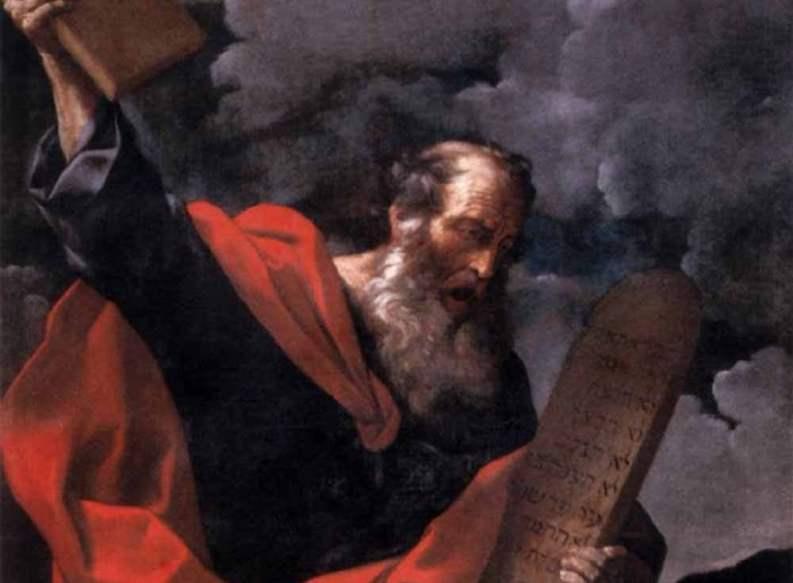 Moisés y las tablas