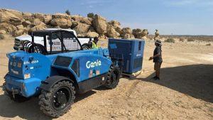 La startup israelí Watergen, instaló un generador para una comunidad de la Nación Navajo en Arizona para ayudarlos a lidiar con una escasez de agua