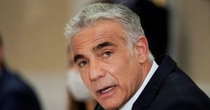 Ministro de Exteriores de Israel, Yair Lapid-visita a Marruecos