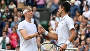 Denis Shapovalov lamentó la oportunidad perdida de vencer a Novak Djokovic y alcanzar la final masculina en el torneo de Wimbledon