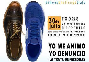 Imagen de la campaña 10 Días de Activismo Contra la Trata