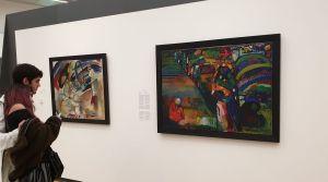 Amsterdam informó que devolverá una pintura de Wassily Kandinsky a una familia judía que estuvo bajo coacción durante el Holocausto