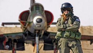 Otra mujer ha roto el techo de cristal en la Fuerza Aérea de Israel y fue nombrada comandante adjunta de un escuadrón de combate de la FAI