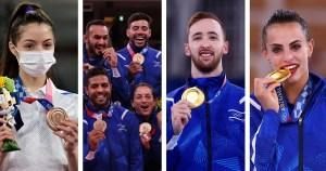Medallistas olímpicos de Israel