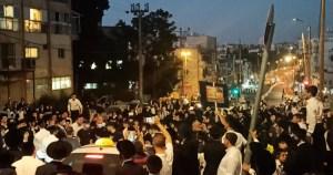 Manifestación de ultraortodoxos en Jerusalén