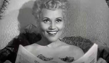 Judy Holliday en la película que le daría un Óscar
