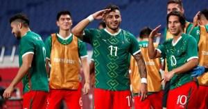Jugadores de la selección mexicana de futbol