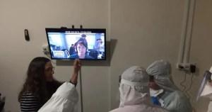 Personal del Centro Médico Sheba